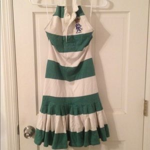 Ralph Lauren Rugby cotton halter dress, never worn
